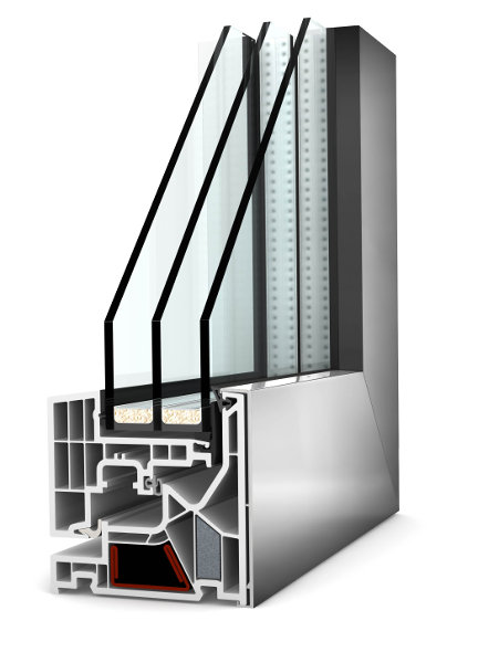 infissi finestre internorm KF405
