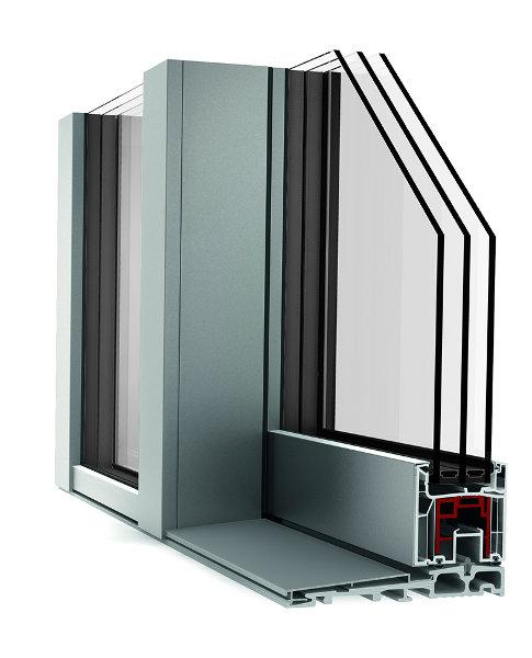 infissi finestre scorrevoli internorm KS430