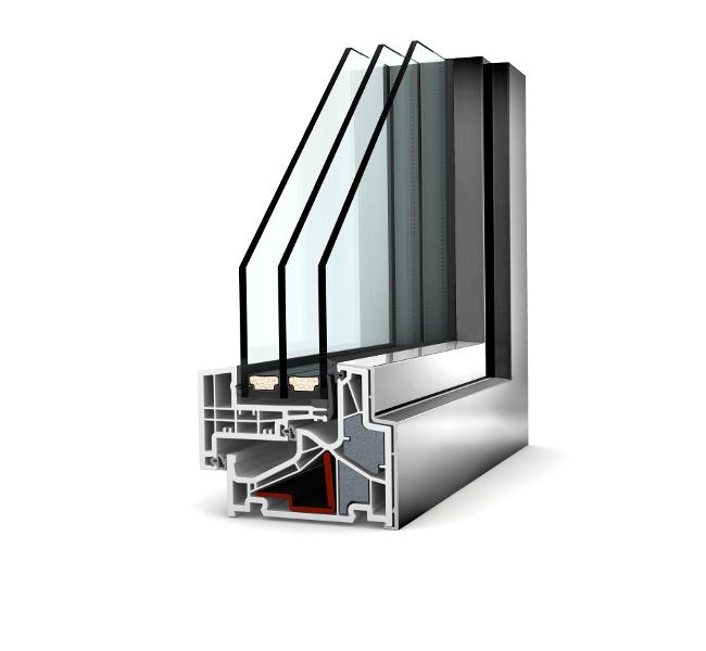 infisso finestra internorm KF500