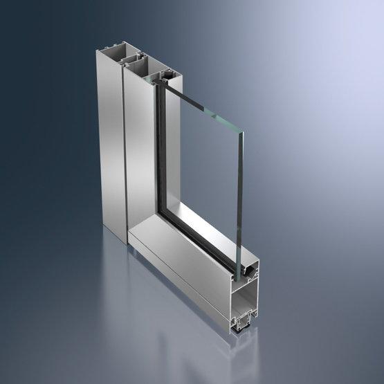 porta-schuco-alluminio-ADS 50 NI